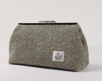 Clutch Bag Harris Tweed Ltd Edition Herringbone