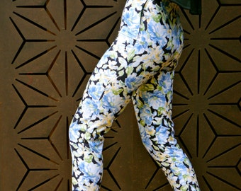 Laura Ashley high waisted cropped straight leg pant
