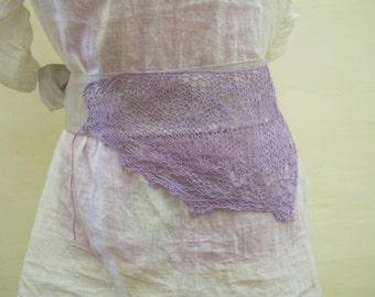 Knitted Bohemian belt