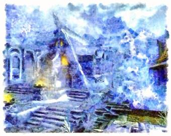 Windhelm - Skyrim - Print