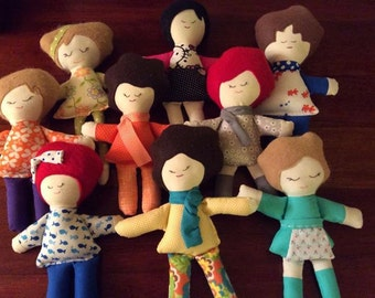 Custom plush dolls