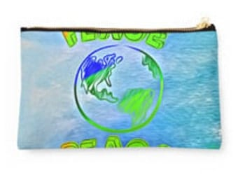 Peace...Accessory Bag by artist MPL