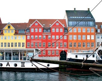 Colorful Copenhagen Canal Houses