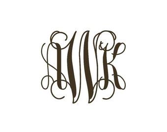 Custom Ivy Monogram