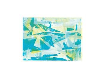 A5 Abstract Postcard