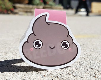 Mr. Poopy Pants Magnetic Bookmark