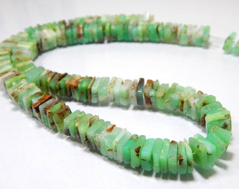 Chrysoprase Beads Heishi Shape 7x9.mm Approx 100% Natural Top Quality Wholesale Price New Arrival