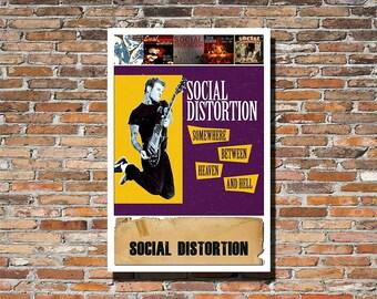 Social Distortion 13x19 Album Artwork Print, Poster, Wall Art