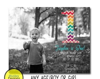 Boys First Birthday Invitation, Boys 1st Birthday Invitation, 1st Birthday Invitation Boy, First Birthday Invitation Boy