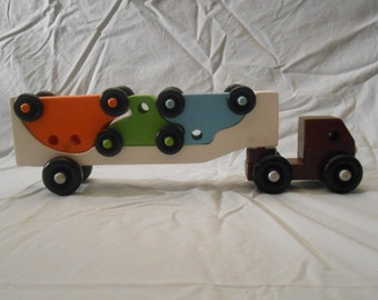 Wooden Car Carrier