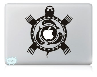 Tortoise Decals Mac Stickers Macbook Decals Macbook Stickers Apple Decal Mac Decal Stickers Laptop Decal