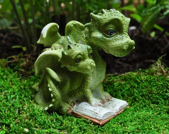 Dragon and Baby Reading