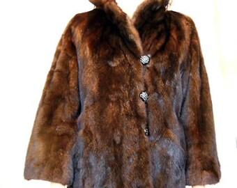 Beautiful Vintage Mink Jacket / Coat