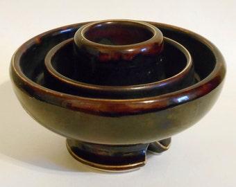Vintage 1920's Porcelain Insulator Vase