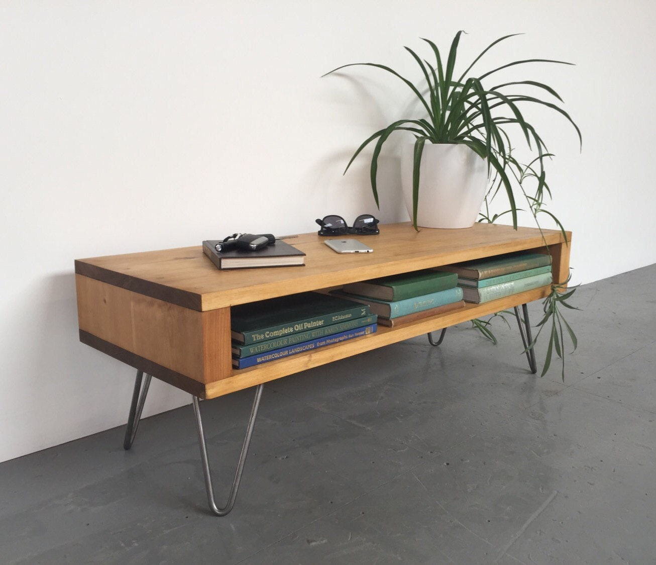 Oldfield Low Mid Century Style Side Table by DerelictDesign