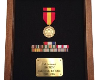 Military  Medal Display Case