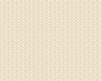 Sale! - Riley Blake - Botanique Criss-Cross in Cream