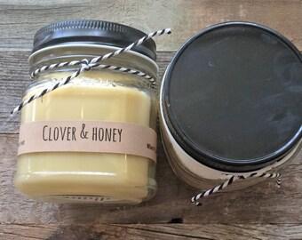 soy candle,mason jar candle,100% soy candle,rustic Bohemian mason jar.gift candle