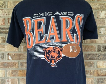 1992 NFL Chicago Bears Large Tee