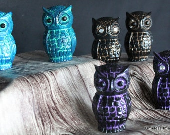 Polyresin Owls