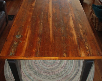SOLD Dining Room Farm Table