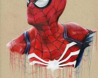 Original Spider-man drawing