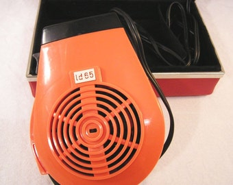 """70s Iconic GDR """"AKA"""" / Suitcase Hairdryer for travel / Fully functional + super quiet"""