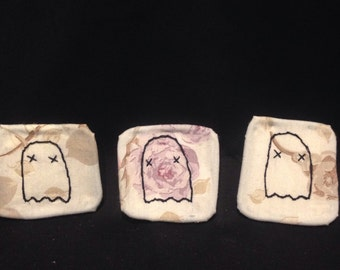 Small Ghost Embroidery