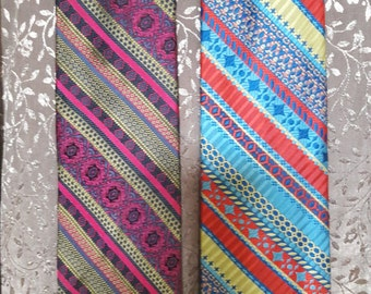 2 very cool ties from the 1970's