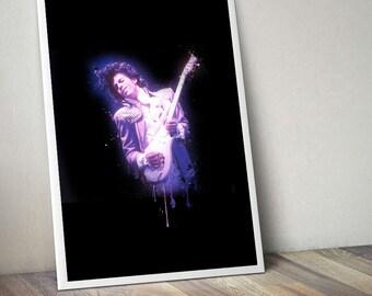 Prince - the Artist formerly known as, legend, musician, guitarist , singer, songwriter, lyricist , purple rain, painting, digital, art