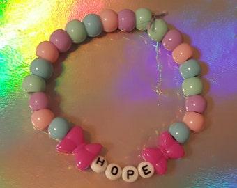 Hope Candi Beaded Bracelet