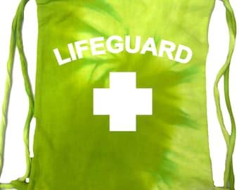 Lifeguard Mens Tie Dye String Bag LIFEGUARD-9500