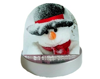 Snowman, Snow Man - Glitter Dome/ Snow Globe, Snowglobe
