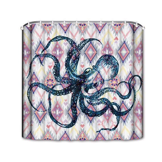 ... Shower Curtain- Bathroom Shower Curtain- Kraken Tentacles Shower