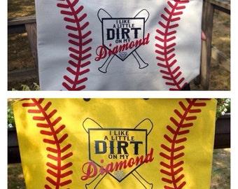 Baseball/Softball Tote//baseball tote//softball tote//baseball mom//softball mom