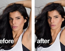 Retouch photos, professional photo editing! Qualitatively, quickly and inexpensively!