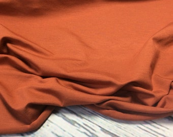 Rust/Orange Bamboo Knit