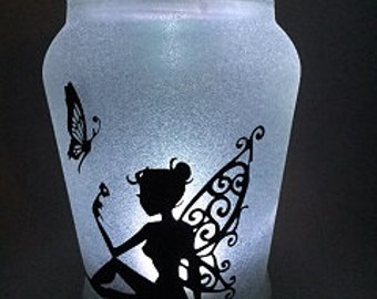 Fairy in a Jar Night Light - Dorothy