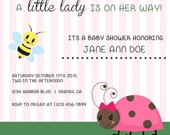 Its a girl! Shower Invitations