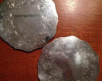 Vintage Silver plate Trivets