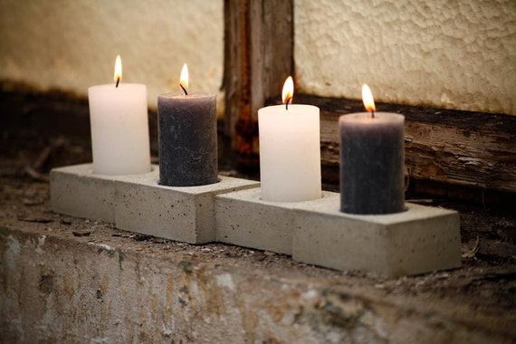 Concrete - Advent wreath