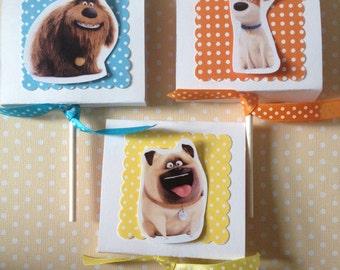 The Secret Life of Pets Party Lollipop Favors - Set of 10