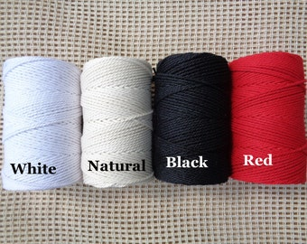 130meters of 1.5mm Twisted cotton rope