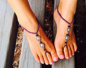 Royal Princess Barefoot Sandals