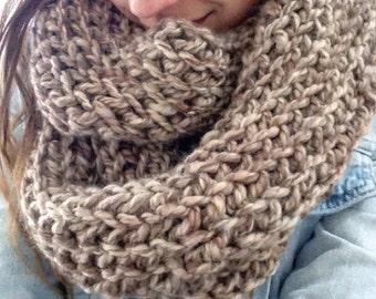 Fall wrap around Infinity scarf