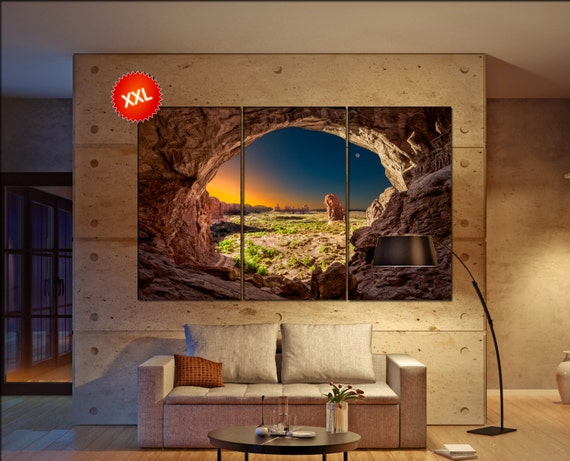 Arches National park  canvas Arches National park wall decoration Arches National park canvas art large canvas  wall decor