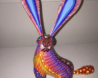 Alebrije - Rabbit by Zeny Fuentes