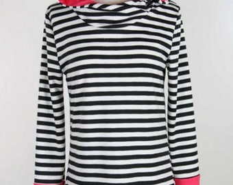 Striped Hooded Tunic!