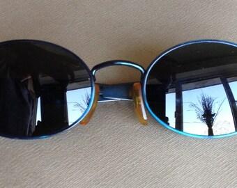 Lovely metallic teal Byblos sunglasses