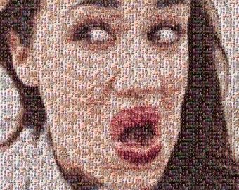 Miranda Sings A1 Mosaic Poster (Made of Tiny Miranda Photos)